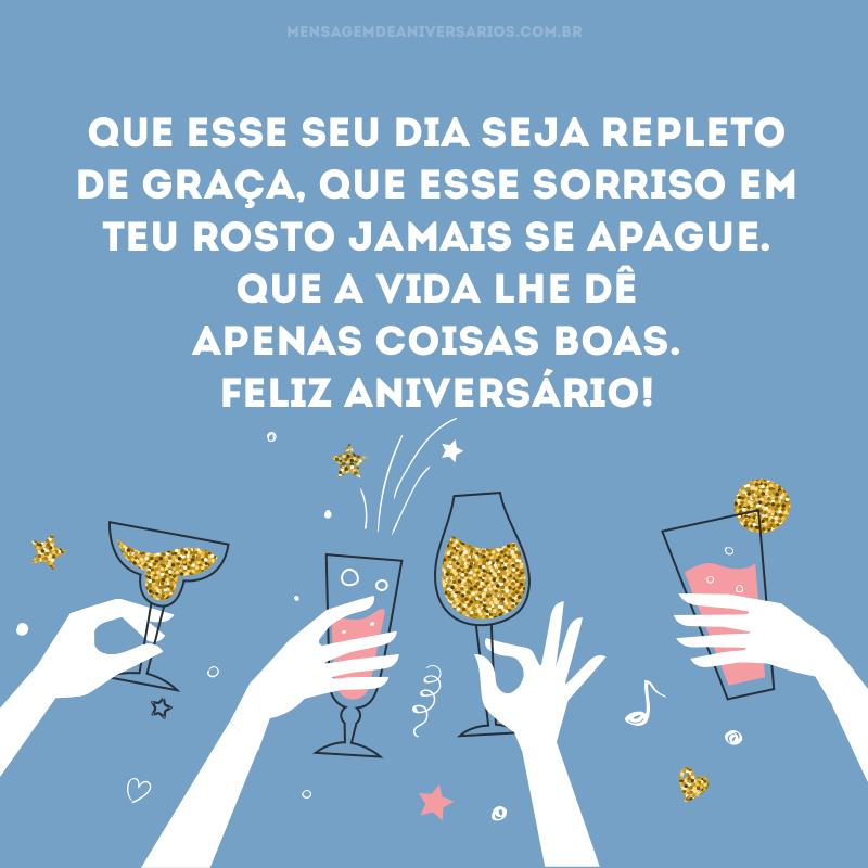 Felicidades Por Mais Um Ano De Vida Mensagem De Aniversário