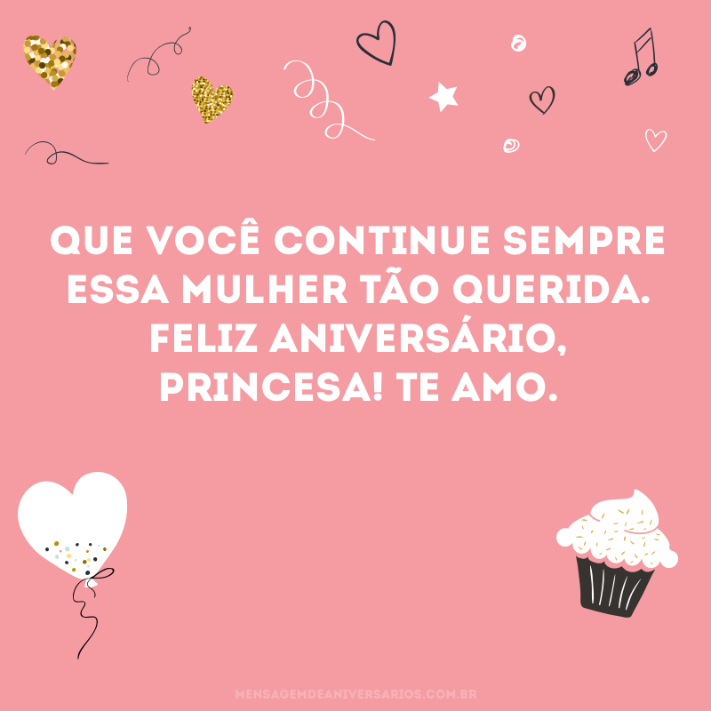 Feliz aniversário, minha paixão!