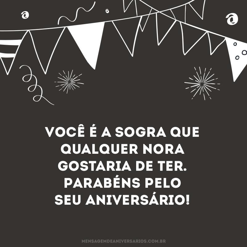 Sogra, parabéns pelo aniversário