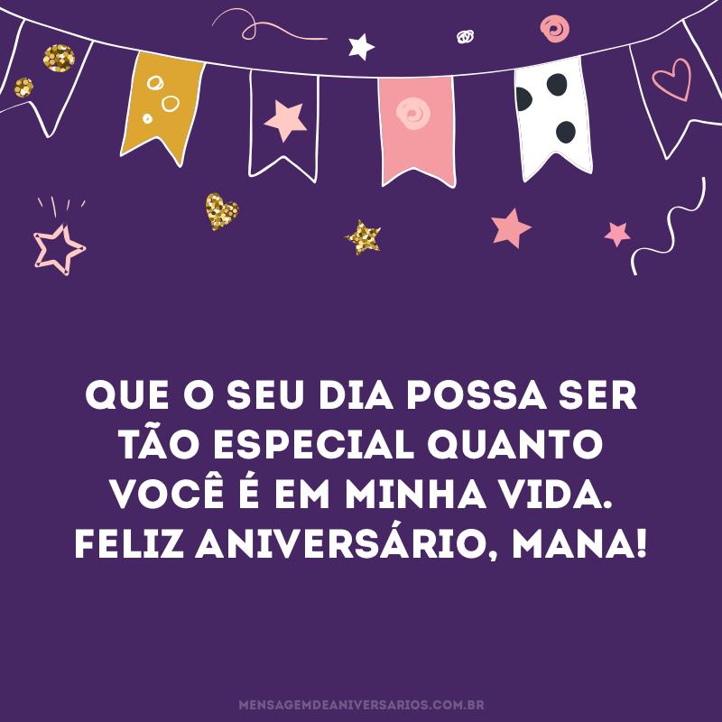 Desejo um dia especial