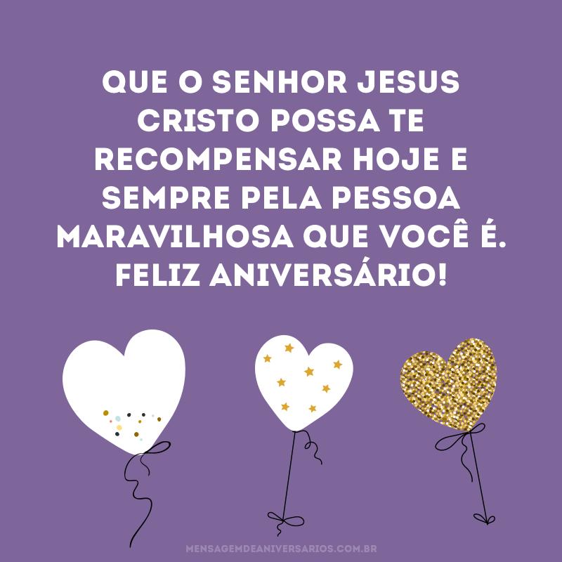 Mensagens De Aniversário Evangélico