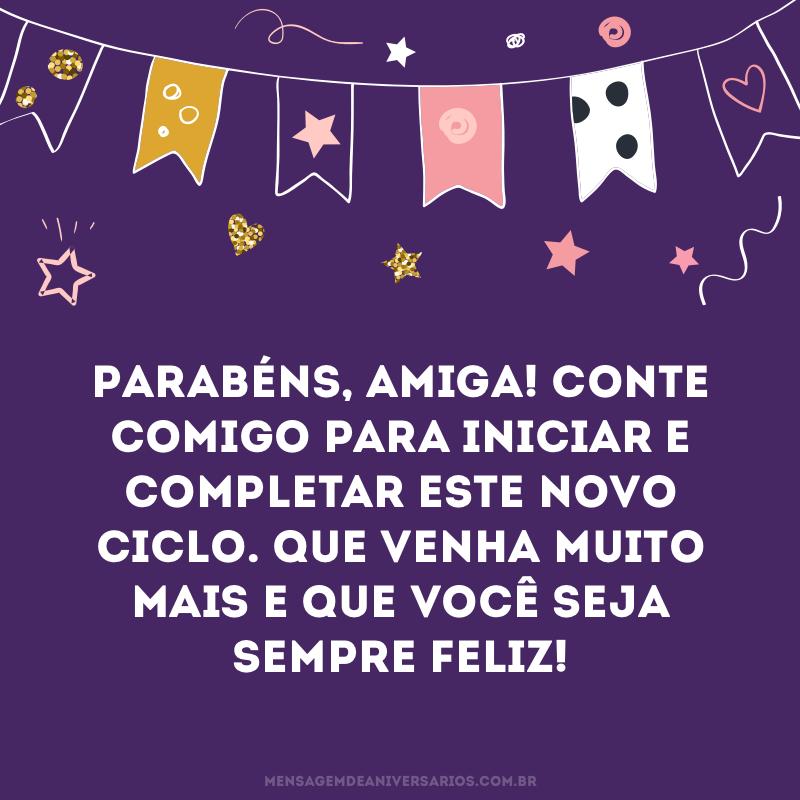 Frases De Aniversário Para Amiga