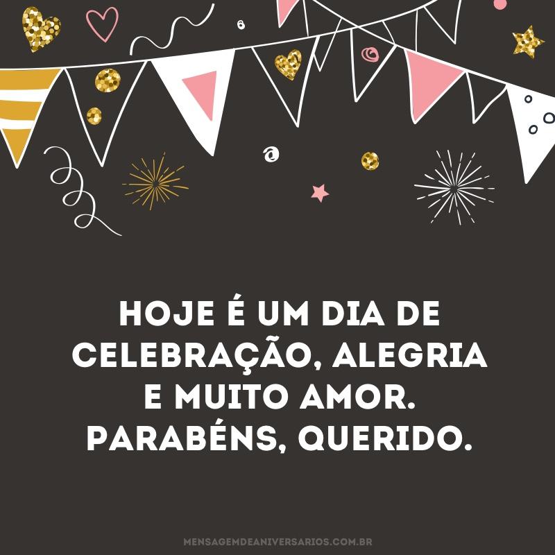 Um dia de celebração