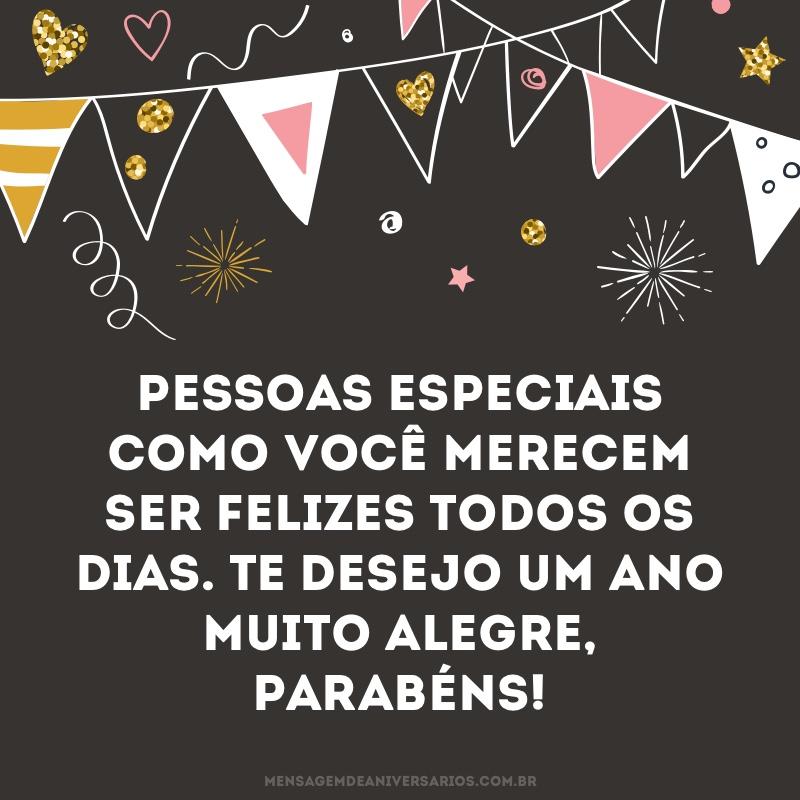 Desejo um ano alegre