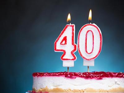 20 mensagens de aniversário de 40 anos para celebrar o ínicio dos ENTA